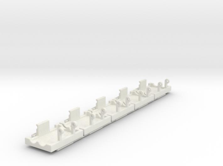 XT-60 Connectors safety brackets ( 5x Set ) 3d printed