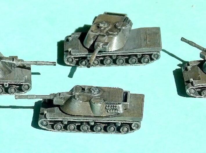 MBT-70 / Kampfpanzer 70 1/285 6mm 3d printed Add a caption...