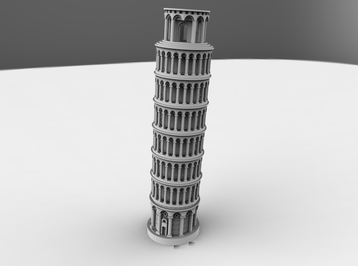 Leaning Tower Of Pisa 3d printed