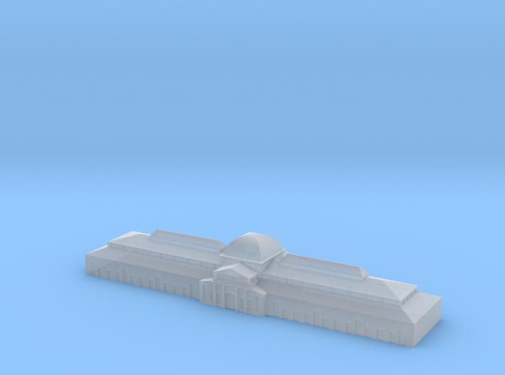 german harbour building 1/1250 (GW6) 3d printed