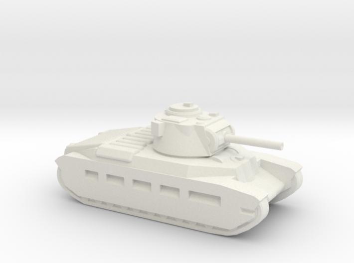 A12 Matilda-2 Infantry Tank 3d printed