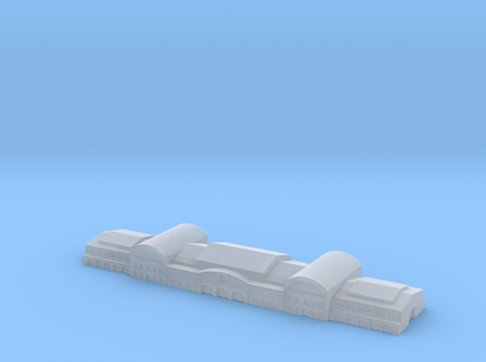 Harbour Terminal shed 3 1/1250 3d printed