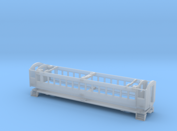 CNR C-2 Coach Body Shell (HO Scale) 3d printed