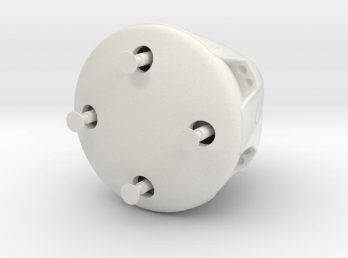 Dragon 1:65 (56.9 mm diameter) 3d printed