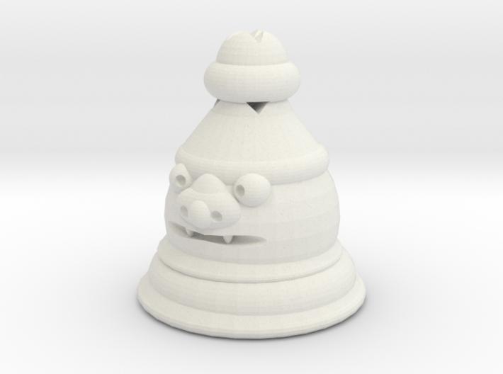 Shisa Pawn 3d printed