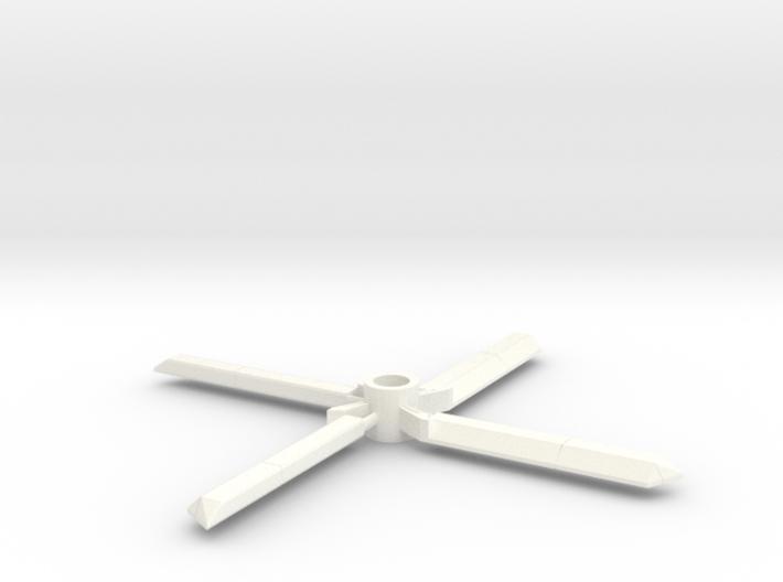 7mm decorative toy rotors 3d printed