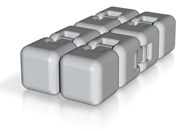 Fidget Cube 3d printed