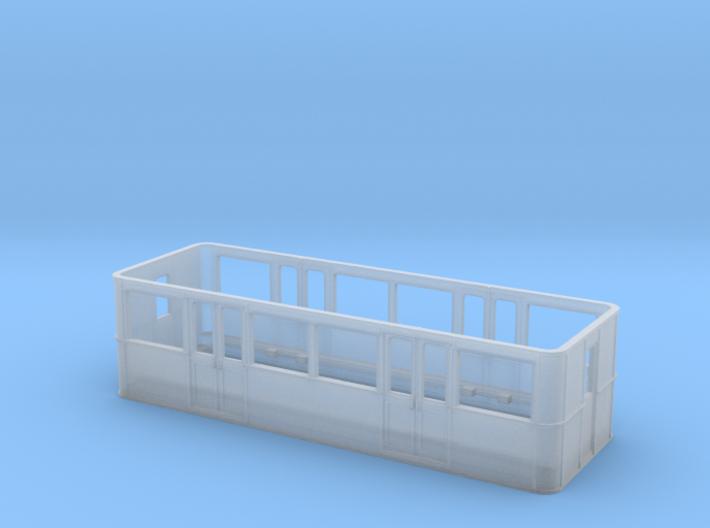 Metro Sprague Caisse Remorque pour B-Train Shorty 3d printed