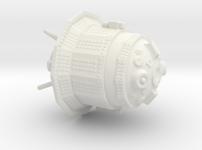 Luna-3 (E-2A) Moon Probe 3d printed