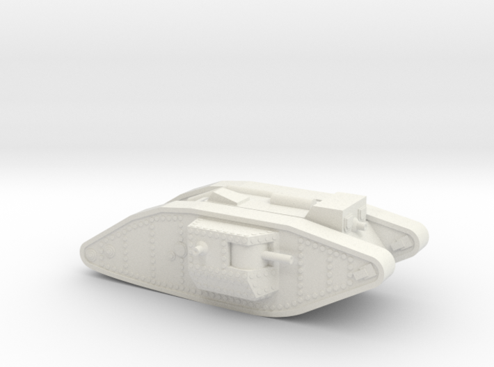 Mark 4 Male Heavy Tank 3d printed