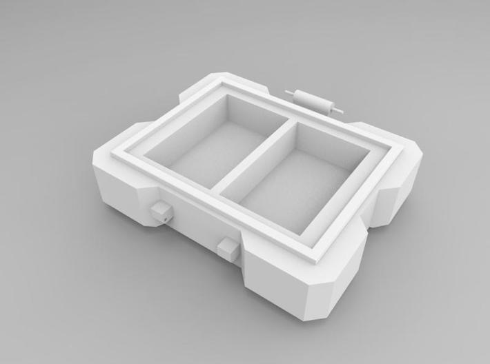 SD cards Box - Part1-1 3d printed