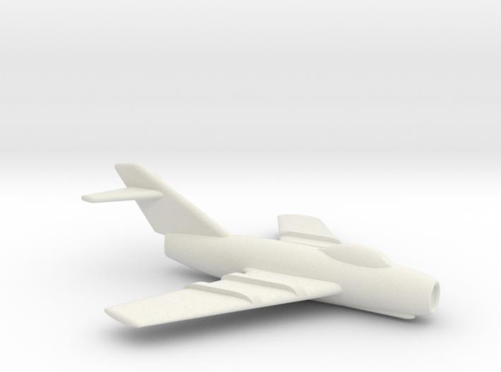 MiG-15 Jet Fighter 3d printed