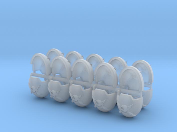 Commission 5 Indo Terminator Shoulder Pads x20 3d printed