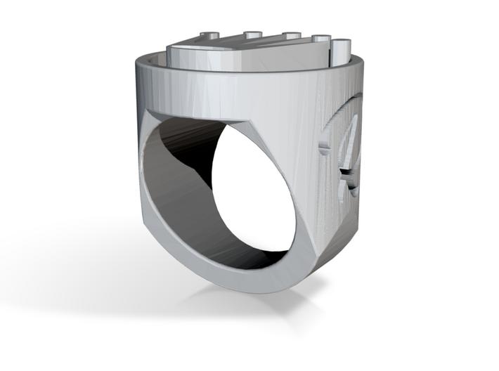 Royal ring 3d printed