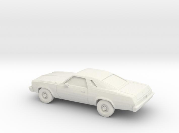 1/87 1975 Chevrolet Chevelle Malibu Classic Coupe 3d printed