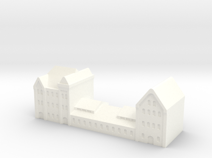 german harbour building 1/1250 (GW5) 3d printed