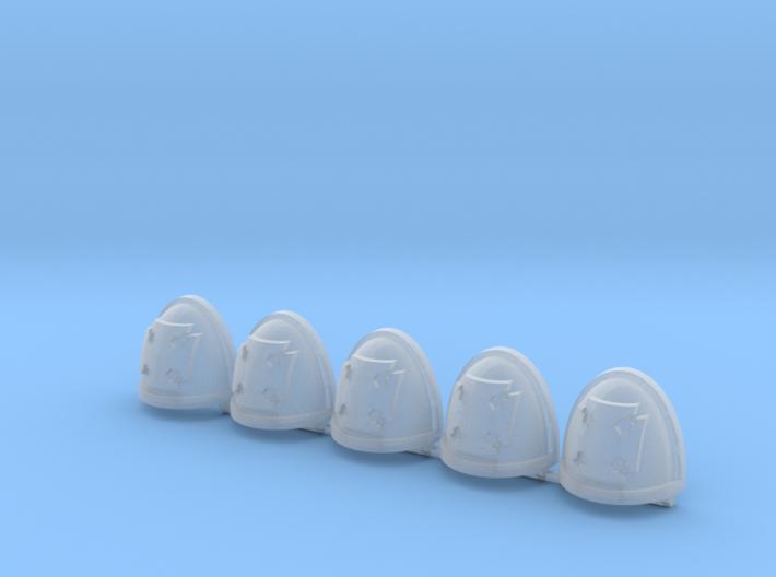 Elites Mk7/8 Shoulder Pads x5 3d printed