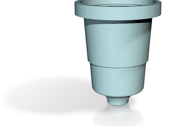 Porcelain - Keurig Insert Part A Body 3d printed Porcelain - prototype k-cup