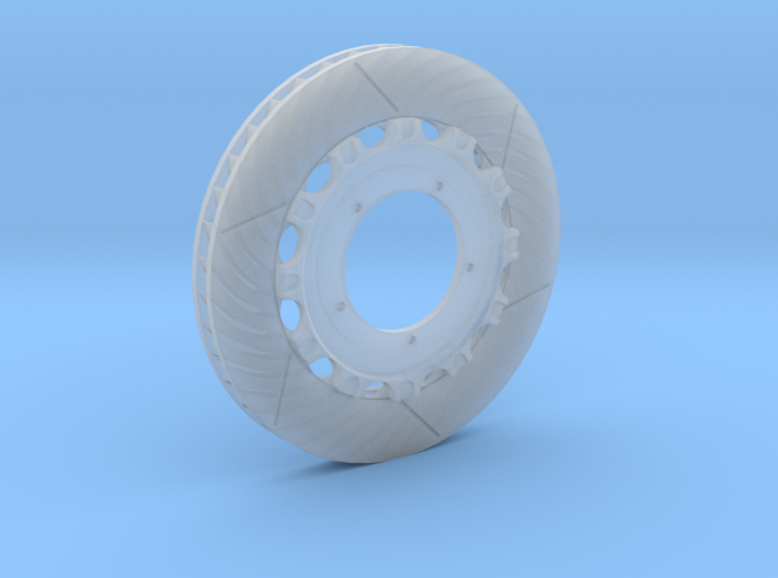 14 Inch Left Rotor / With Hub 3d printed