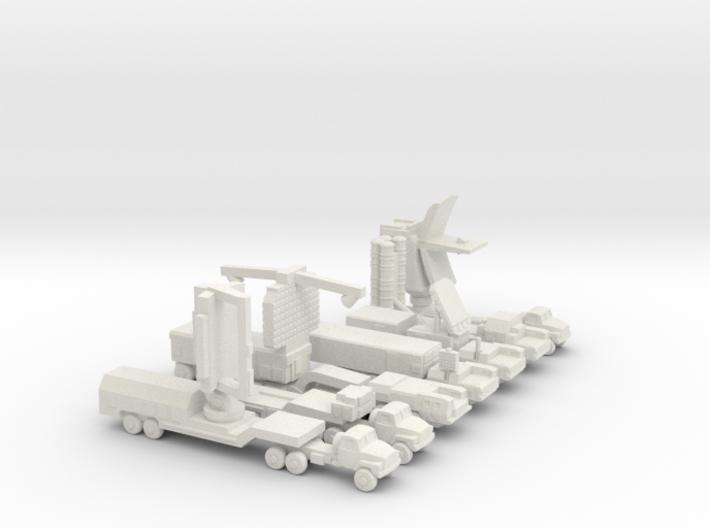 S-300PM Air Defense System (Full) 3d printed