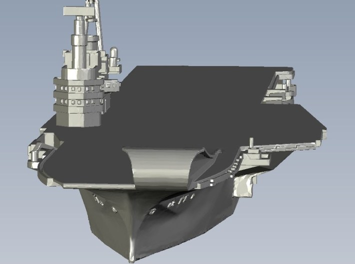 1/1800 scale HMS Hermes R-12 aircraft carrier x 1 3d printed
