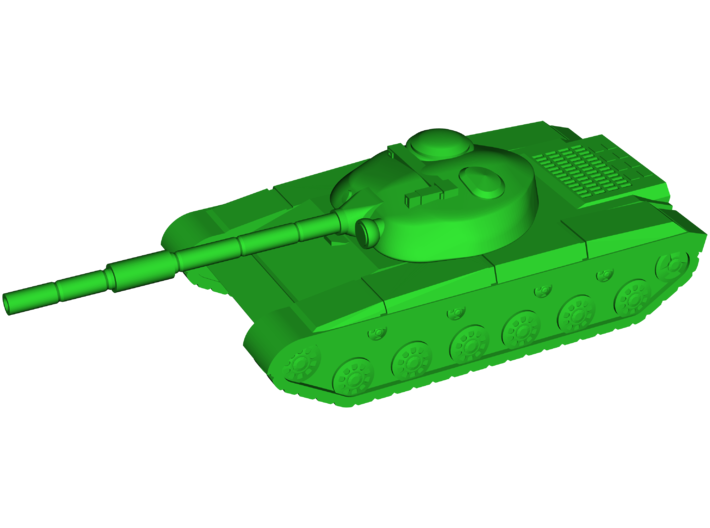 T-64 (Obyekt 432) Medium Tank 3d printed