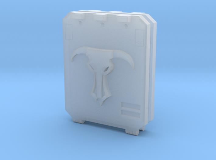 """Minotaurs """"Metal Box APC"""" Door #1 Lite 3d printed"""