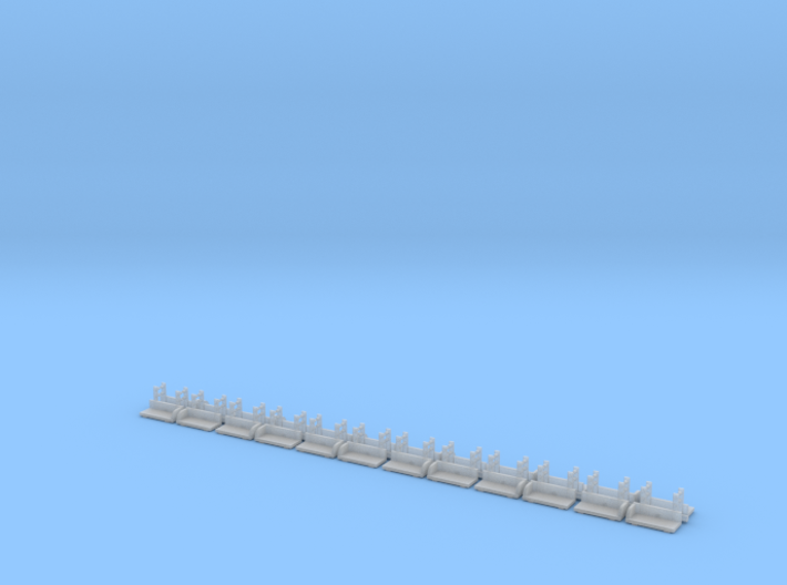 160 N-Scale Footboards 3d printed