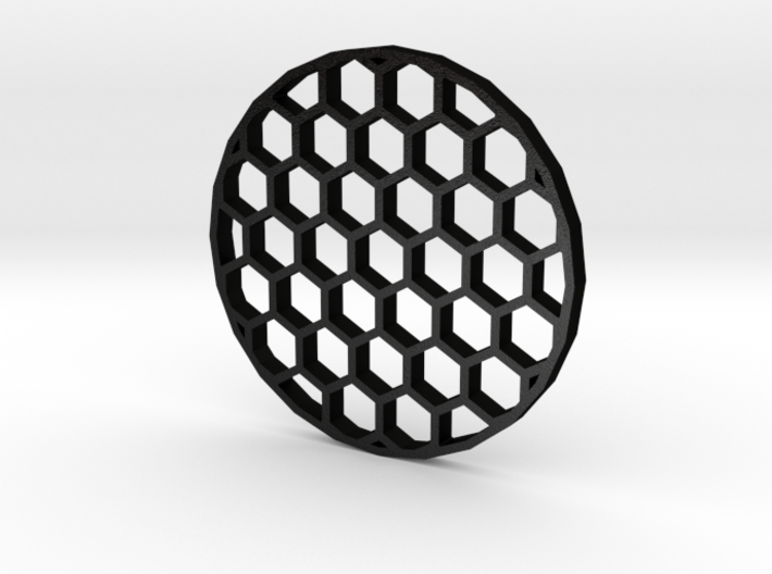 44mm Honeycomb Kill Flash (Stainless Steel) 3d printed