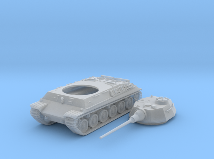 1/87 (HO) Czech Škoda T 40 Medium Tank 3d printed 1/87 (HO) Czech Škoda T 40 Medium Tank