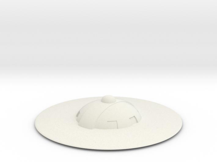Saucer series 2 3d printed