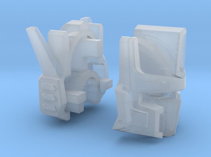 Venomous Prime Head - Damaged 3d printed