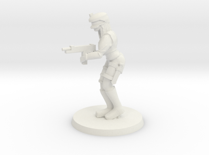 Mercenary Lucy 3d printed