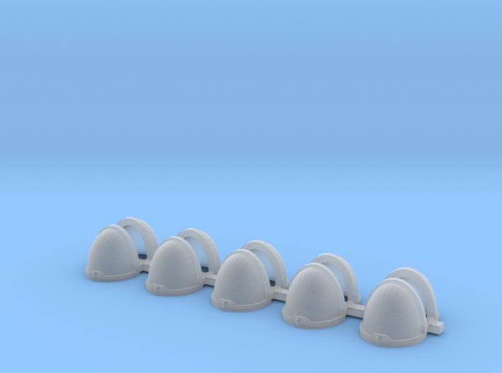 Blank MK10 (basic) Shoulders - Rebuilt 008a 3d printed
