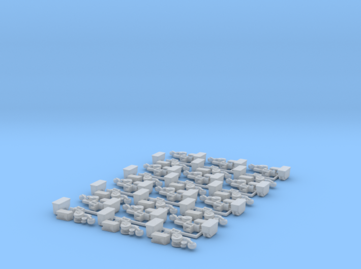 Case IH 1200 Row Unit w/ Standard Hopper (24) 3d printed