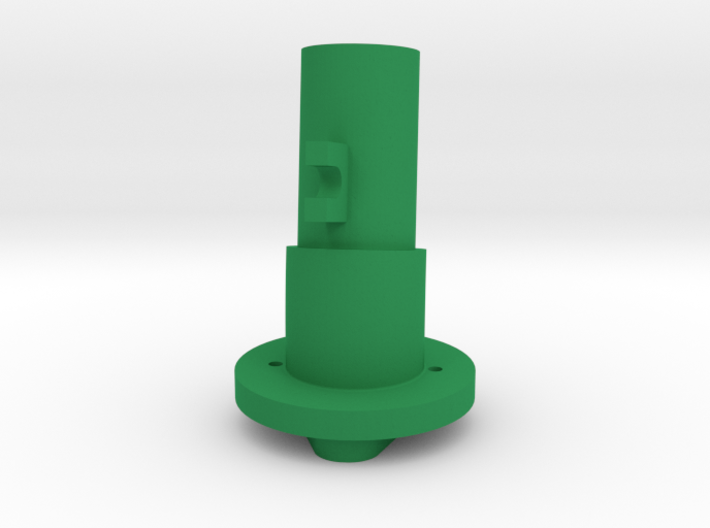 Thrustmaster tailpiece, 13° ang. 15°off. to the RI 3d printed