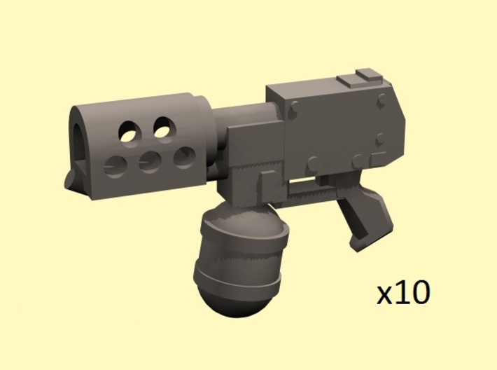 28mm flamethrower pistol 3d printed