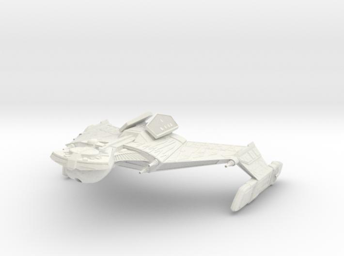 Klingon K 20 GunDestroyer 3d printed