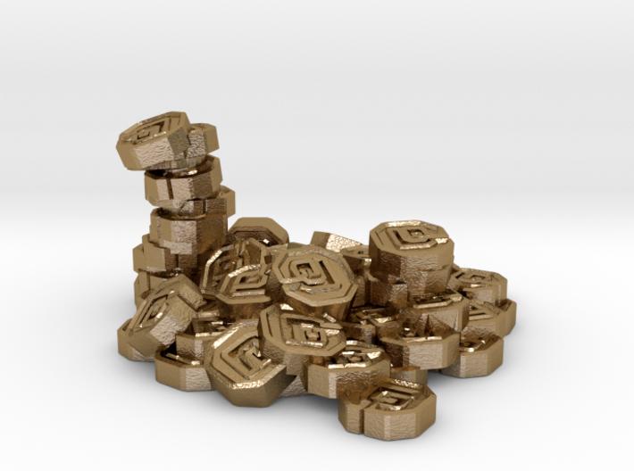 """Pile of Shanix (1"""" diameter) 3d printed"""