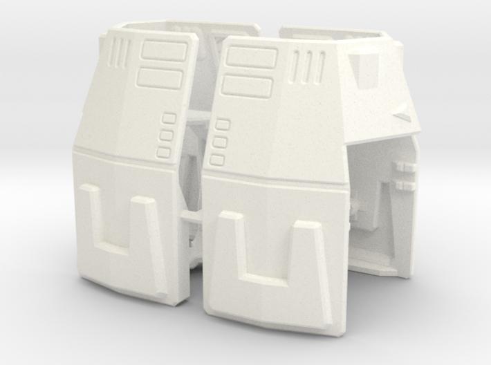 Titans Return Leader Overlord Shoulders 3d printed