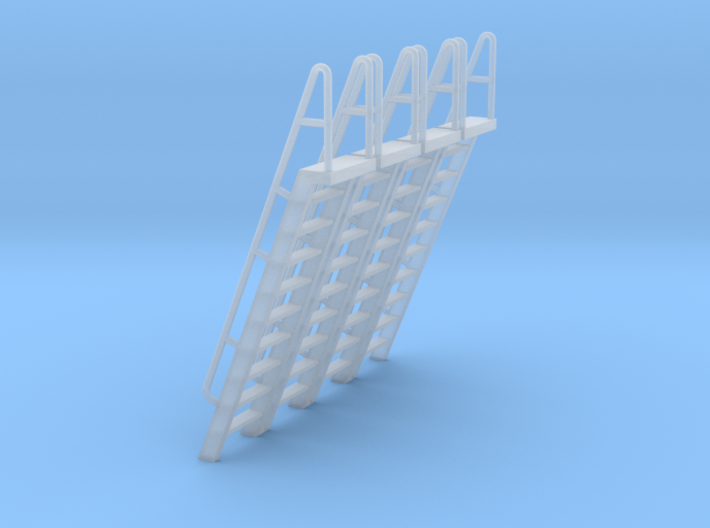 HO Scale Ladder 10 3d printed