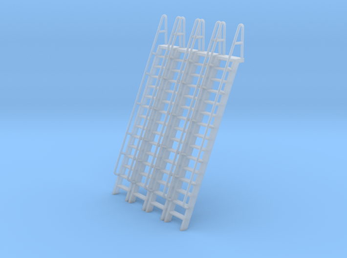 HO Scale Ladder 15 3d printed