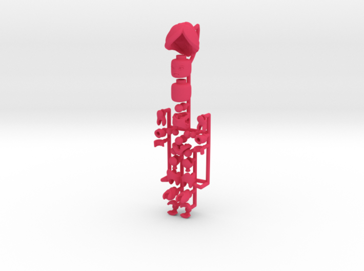 CoolEgo Articulate Minifig 2 3d printed