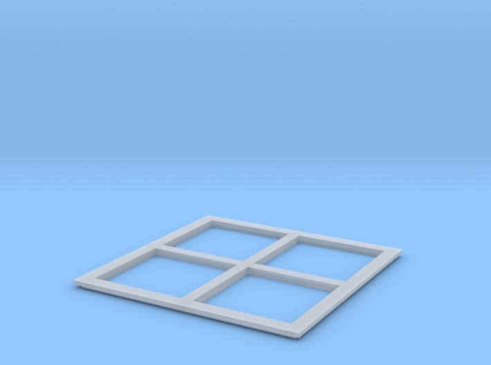 N9061 - Betonplattenform (N 1:160) 3d printed