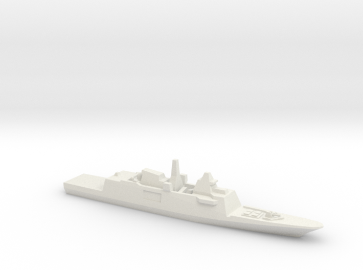 Aquitaine class FFG, 1/1250 3d printed