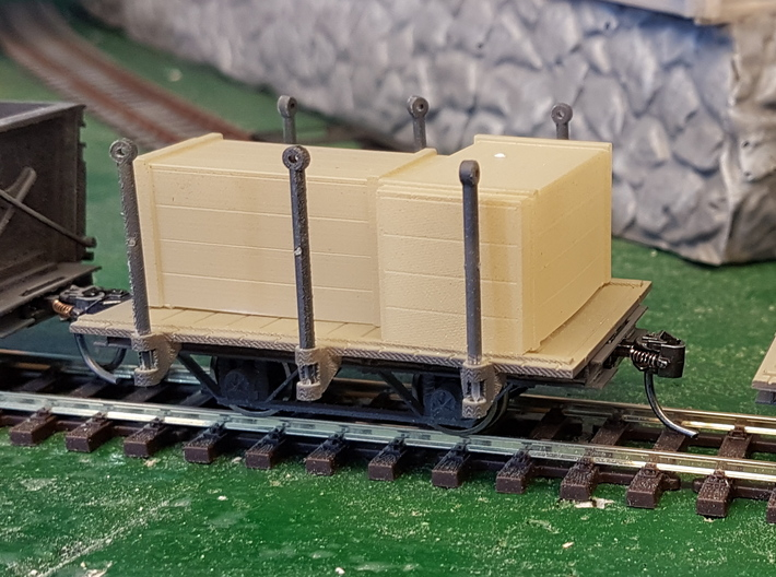 Atlas flat wagon 3d printed