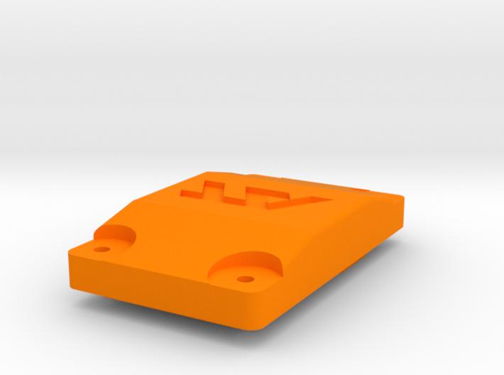 Wurfradgehaeuse Getriebedeckel 3d printed