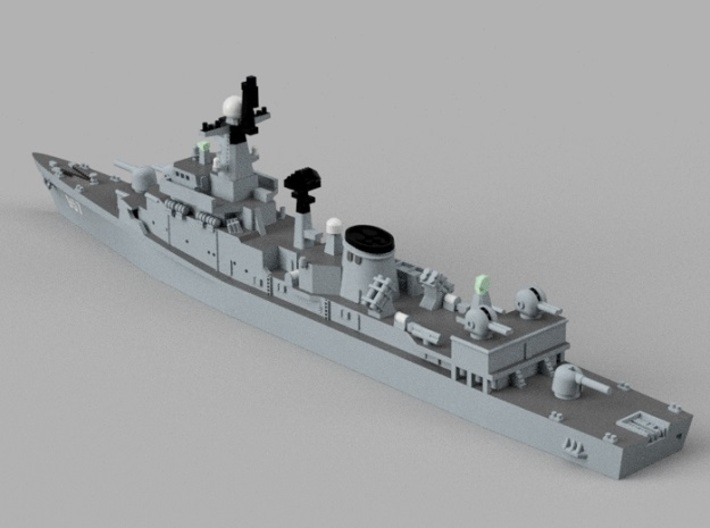 1/1800  ROKS Jeonnam 3d printed Computer software render.The actual model is not full color.