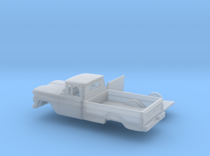 1/87 1960/61 Chevrolet C10 Fleetside Small R.W.Kit 3d printed