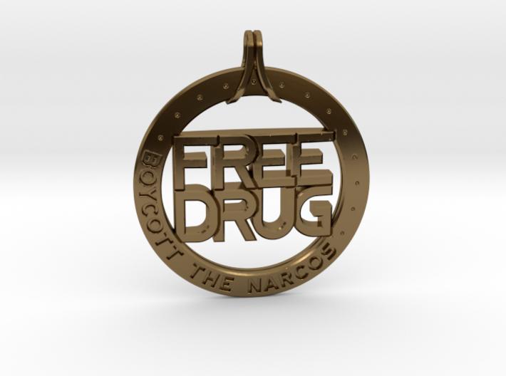 Free Drug 3d printed